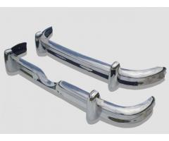 Jaguar MK2 stainless steel bumpers