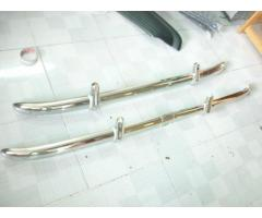 Bristol 400 Bumper in stainless steel
