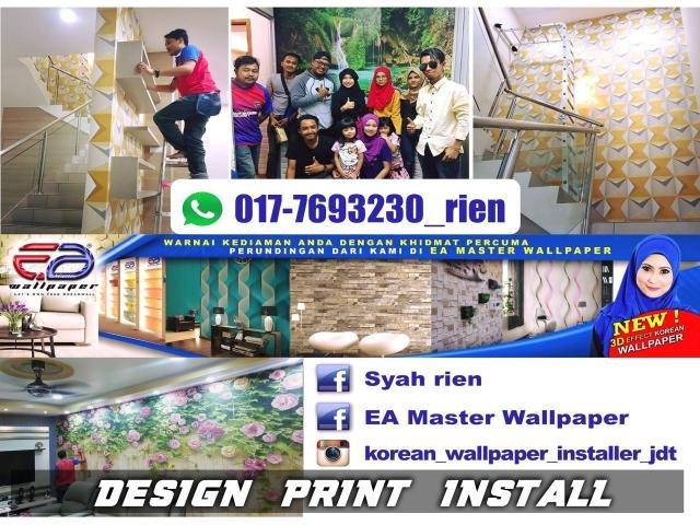 wallpaper installation johor
