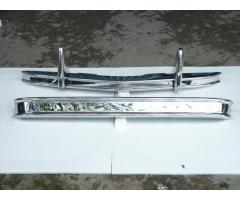 Citroen 2CV Bumper 48-90 in stainless steel
