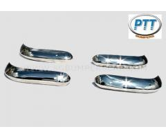 Ford Escort Bumper 63-75 in stainless steel