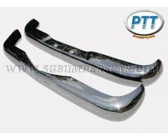 Mercedes W110 Bumper 61-68 in stainless steel