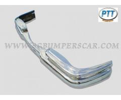 Mercedes W111 Coupe - 2 doors Bumper 59-68 in stainless steel