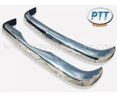 Mercedes W121 Bumper 53-62 in stainless steel