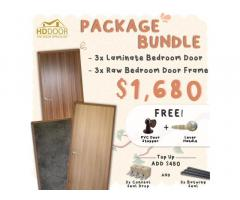 Pretty Laminate Bedroom Doors with Frames
