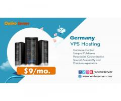 Upgrade your Business with Germany VPS Hosting by Onlive Server