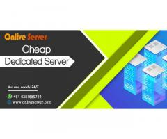 Extend Business with Cheap Dedicated Server from Onlive Server