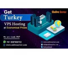 Best Turkey VPS with Better Control By Onlive Server
