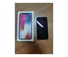 Apple iphone X 256GB Black  Brand New