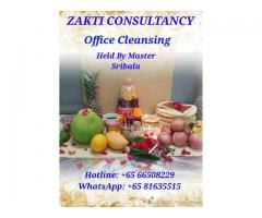 Office Cleansing held by Master Sribala