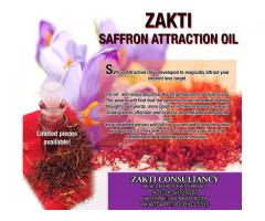 Saffron Attraction Oil