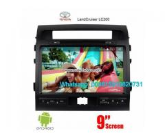 Toyota Land Cruiser radio GPS android
