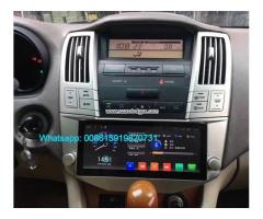 Toyota Harrier Car audio radio android GPS navigation camera