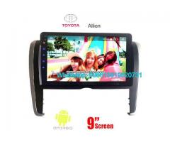 Toyota Allion Car audio radio update android GPS navigation camera