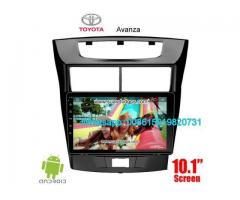 Toyota Avanza Car audio radio update android GPS navigation camera