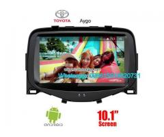 Toyota Aygo Car audio radio update android GPS navigation camera
