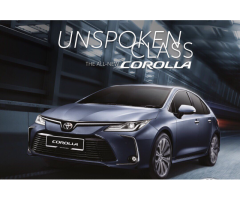 2019 All New Toyota Corolla 1.8(A)-OPEN FOR BOOKING NOW(ALL NEW)