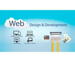 web development company website
