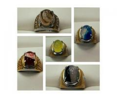 Signature Fortune Stone Ring for Men