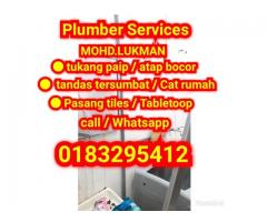 Tukang paip.renovation dan plumber 0183295412 Area kulai