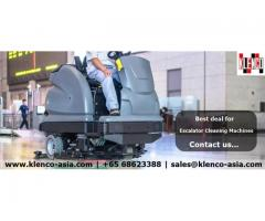 Escalator Cleaning Machines