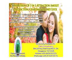 3 IN 1 ATTRACTION,CHARISMA A\ND MONEY LUCK AMULET