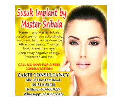 Susuk and Diamond Implant by Zakti