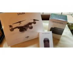 DJI Spark Drone Combo - Controller & Extra Battery Brand New