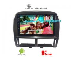 LEXUS LS430 Car audio radio android GPS navigation camera