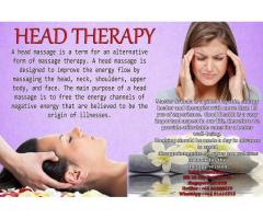 Relaxing Head Massage by King Zakti