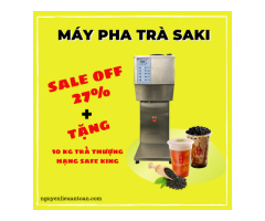 Smart tea machine