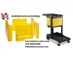 Janitorial Carts and Trolleys