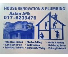 plumbing dan renovation 0176239476 azlan afik batu caves