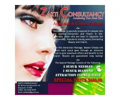 Effective Attraction and Charm Package by Zakti
