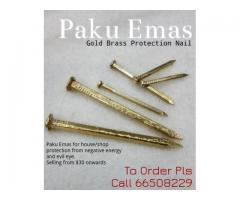 New and Excellent Gold Brass Protection Nail by Zakti