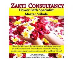 Refreshing Flower Bath by King Zakti