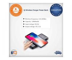 Buy 10000mAh Wireless Charging Finish Power Bank ElectronicsCrazy