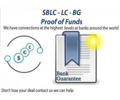 Project/Business Financing/BG-SBLC-MT760/Credit-Loan/Monetizing/MT799/Eurobonds