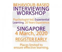 Behavior-Based Interviewing Course – Singapore