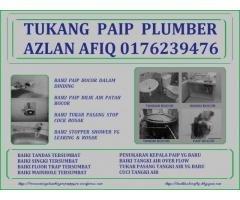 tukang paip plumber azlan afiq 0176239476 wangsa maju