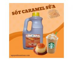 MILK CARAMEL SAUCE - adds delicious milk tea