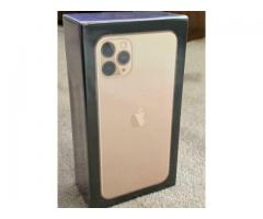 Apple iphone 11 pro Max 256gb Gold Colour Original