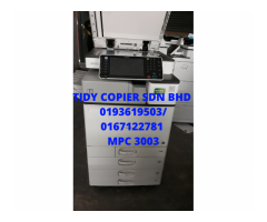 PHOTOCOPIER MACHINE MPC 3003