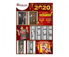 CHINESE NEW YEAR OFFERS FROM MYDIGITALLOCK, KATO SIMPLIFY GATES FOR HDB FROM $680 HP 98440884