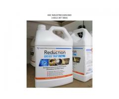REDUCTION GREASE TRAP ENZYME CHEMICAL