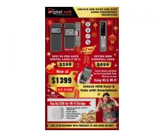 HDB GATE OFFERS FROM LEADING DIGITAL LOCK SELLER, EPIC GATE DIGITAL LOCK+KEYWE PUSHPULL