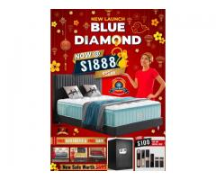 CHINESE NEW YEAR OFFERS FROM MY PRESIDENT MATTRESS, ON BLUE DIAMOND, THE COOLEST MATTRESS