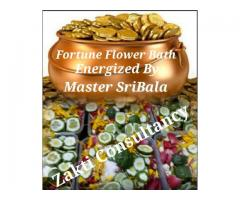 Marvelous Effect of Fortune Flower Bath