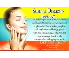 Brilliant Effect of Susuk and Diamond Implant