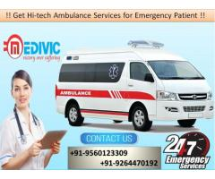 Book Supercilious Medical Service by Medivic Ambulance in Bokaro